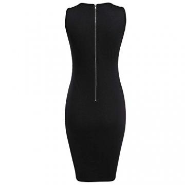 CRAVOG Sexy Damen Ballkleider Kleid für Party Damen Minikleider Abendklei - 5