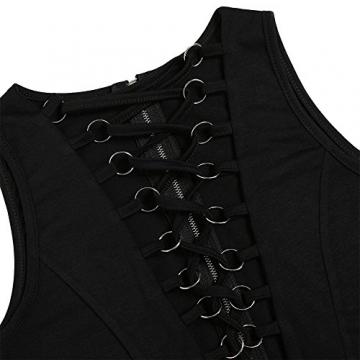 CRAVOG Sexy Damen Ballkleider Kleid für Party Damen Minikleider Abendklei - 6