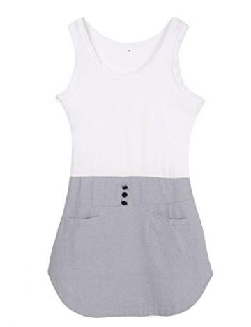 Damen kurz Partykleid Minikleid Strand Kleid - EU 38/(Asian L) -