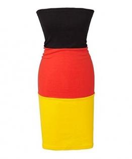 Damen Tube Kleid EM Deutschland 2016 One Size - 1
