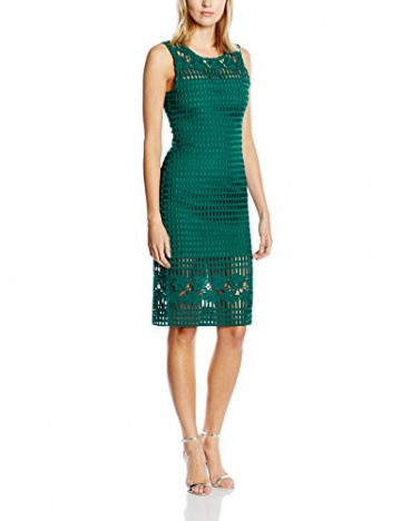 Darling Damen EtuiKleid Gr. 34, Grün - Green (Emerald) - 1