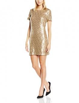 Deby Debo Damen Kleid Sequance, Gold (noir), 34 (Herstellergröße: XS) - 1