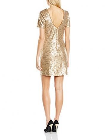 Deby Debo Damen Kleid Sequance, Gold (noir), 34 (Herstellergröße: XS) - 2