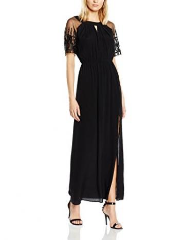 Deby Debo Damen, Plissee, Kleid, Farouche, GR. 34 (Herstellergröße: XS), Schwarz (Noir) - 1