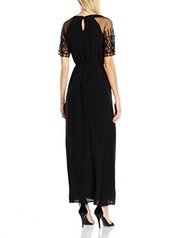Deby Debo Damen, Plissee, Kleid, Farouche, GR. 34 (Herstellergröße: XS), Schwarz (Noir) - 2
