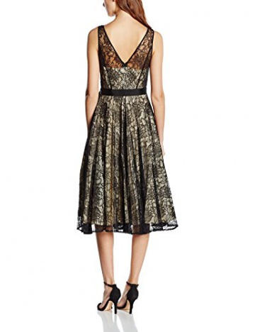 Derhy Damen, Kleid, Aniemen, GR. 36 (Herstellergröße: S), Schwarz (Noir) - 2