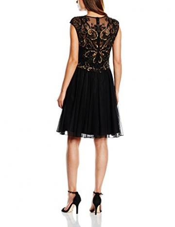 Derhy Damen Kleid, Uni Gr. 36, Schwarz - Schwarz - 2