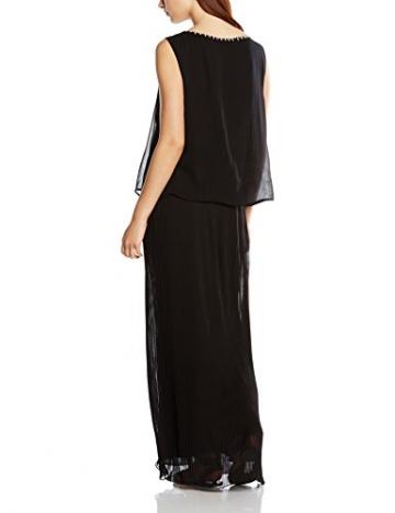 Derhy Damen Plissee Kleid Gr. 38, Schwarz - 2