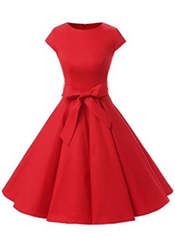 Swing rotes cocktailkleid