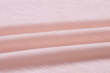 ECOWISH Damen Enges Kleid Sommerkleid Rundhals Kurzarm Kleid Bodycon Unregelmäßig Minikleid Rosa XL - 7