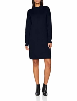 edc by ESPRIT Damen Kleid 108CC1E005, Blau (Navy 400), Small - 1