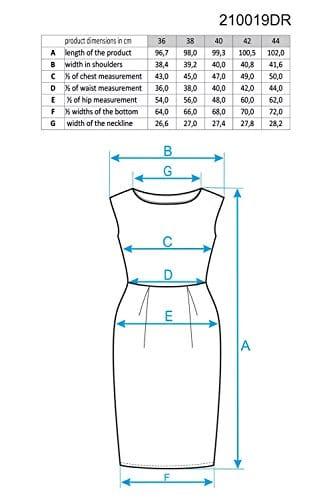 Ennywear 210019 Kleid Für Damen, Elegant, Ärmellos, Hinten Reißverschluss, Mini, Größe 36, Schwarz -