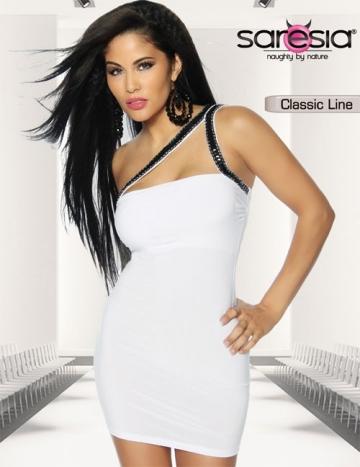 Etui-Kleid weiß