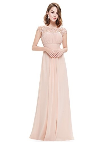 Ever Pretty Damen Lange Elegantes Abendkleid Festkleider 42 Blush - 1