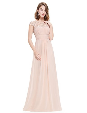 Ever Pretty Damen Lange Elegantes Abendkleid Festkleider 42 Blush - 2