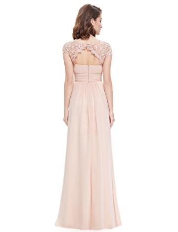 Ever Pretty Damen Lange Elegantes Abendkleid Festkleider 42 Blush - 3