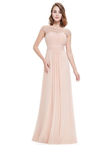 Ever Pretty Damen Lange Elegantes Abendkleid Festkleider 42 Blush - 4