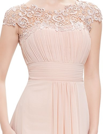 Ever Pretty Damen Lange Elegantes Abendkleid Festkleider 42 Blush - 6