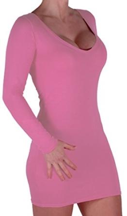 EyeCatch - Rachel Damen Mit V-Ausschnitt, Figurbetontes Stretch Short Frauen Minikleid - 1