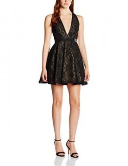 Forever Unique Damen, A-Linie, Kleid, Alexia, GR. 34 (Herstellergröße: Size 8), Schwarz (Black) - 1