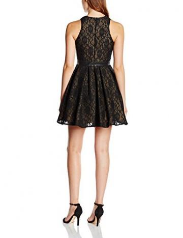 Forever Unique Damen, A-Linie, Kleid, Alexia, GR. 34 (Herstellergröße: Size 8), Schwarz (Black) - 2