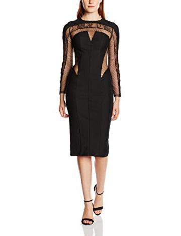 Forever Unique Damen, Cocktail, Kleid, Allegra, GR. 34 (Herstellergröße: Size 8), Schwarz (Black) - 1