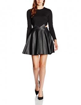 Forever Unique Damen, Dekolletiertes, Kleid, Adela, GR. 36 (Herstellergröße: Size 10), Schwarz (Black) - 1