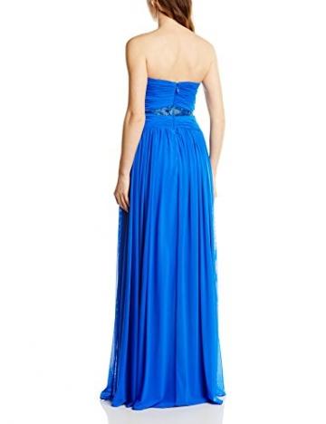 Forever Unique Damen Kleid cecelia embellished strapless maxi, Maxi, Gr. 38 (Herstellergröße:Size 12), Blau - 2