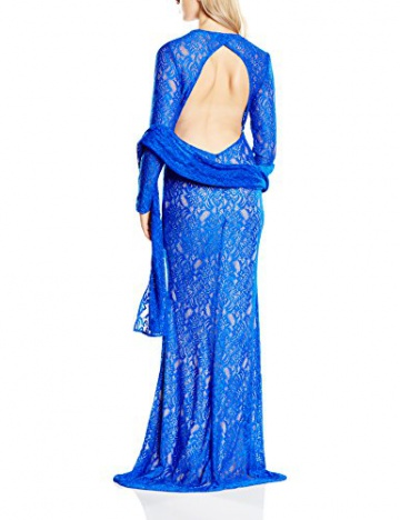 Forever Unique Damen Kleid Gr. 34, Blau - Sax Blue - 2