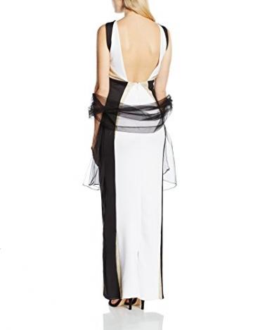 Forever Unique Damen Kleid Gr. 34, Mehrfarbig - Multicoloured (Black/Ivory/Gold) - 2