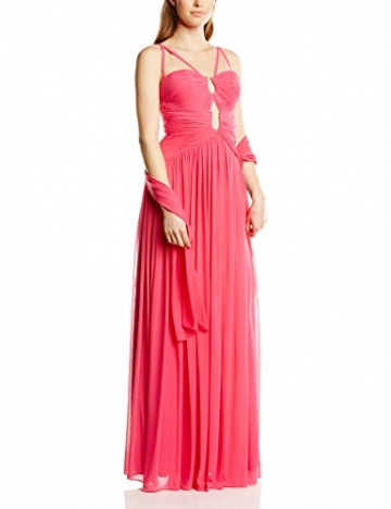 Forever Unique Damen Kleid Leia long strappy dress, Maxi, Gr. 34 (Herstellergröße:Size 8), Rosa (Fuchsia) - 1