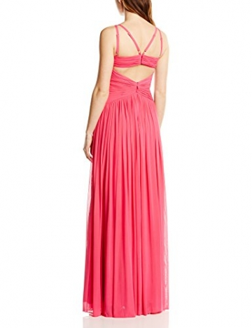 Forever Unique Damen Kleid Leia long strappy dress, Maxi, Gr. 34 (Herstellergröße:Size 8), Rosa (Fuchsia) - 2