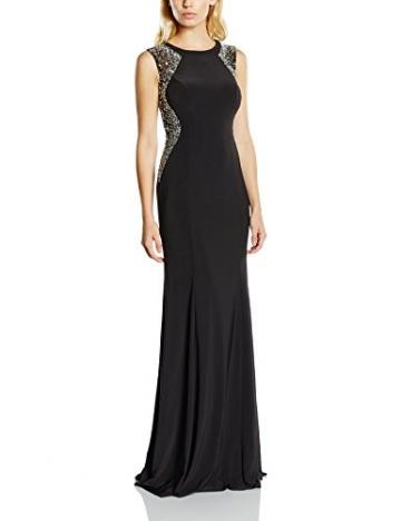 Forever Unique Damen, Kleid, Rosetta, Schwarz (Black), 36 - 1