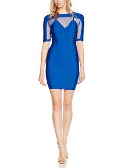 Forever Unique Damen, Schlauch, Kleid, Anousha, GR. 36 (Herstellergröße: Size 10), Blau (blue) - 1