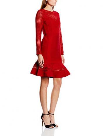 Forever Unique Damen, Schlauch, Kleid, Silvia, GR. 34 (Herstellergröße: Size 8), Rot (red) - 1