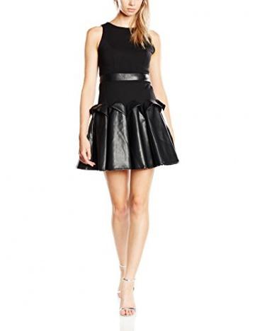 Forever Unique Damen, Skater, Kleid, Buffy, GR. 34 (Herstellergröße: Size 8), Schwarz (black) - 1