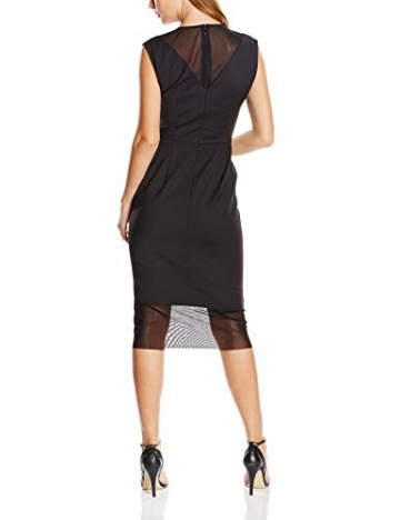 French Connection Damen, Kleid, Glass Stretch Maxi, GR. 36 (Herstellergröße: Size 10), Schwarz (Black) - 2