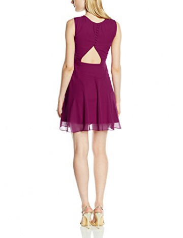 Frock and Frill Damen, Kleid, Esmerelda Sequin Skater, GR. 36 (Herstellergröße: Size 10), Rot (berry) - 2