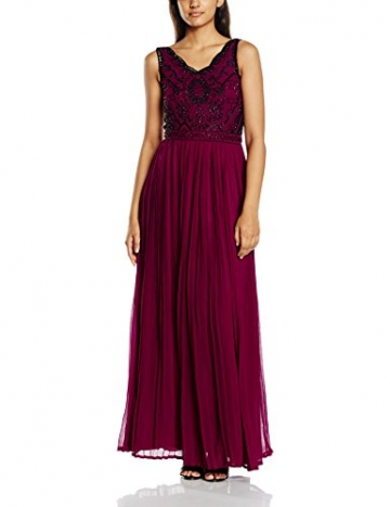 Frock and Frill Damen Kleid Gr. 38, Rosa - Rosa - Deep Pink - 1
