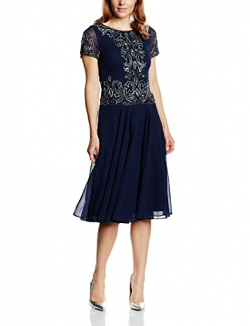 Frock and Frill Damen Kleid Gr. Größe 34 EU, Blau - Blau (Marineblau) - 1