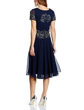 Frock and Frill Damen Kleid Gr. Größe 34 EU, Blau - Blau (Marineblau) - 2
