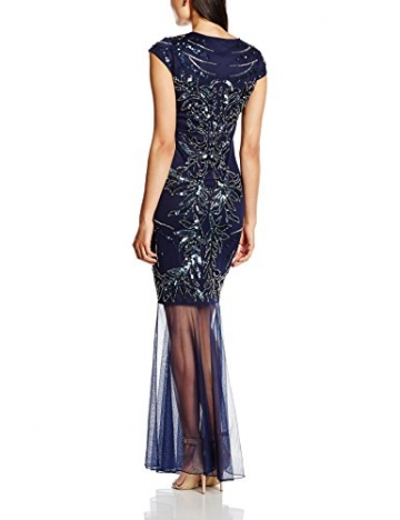 Frock and Frill Damen Kleid Odalis Sequin Maxi, Gr. 40, Blau - Blau (Marineblau) - 2