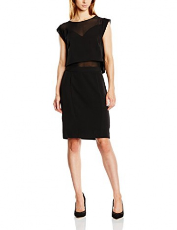 GESTUZ Damen Cocktail Kleid Esme dress, Knielang, Gr. 34, Schwarz (Balck 90001) - 1