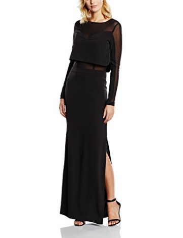 GESTUZ Damen Kleid Esme Dress, Maxi, Gr. 38, Schwarz (Black 90001) - 1