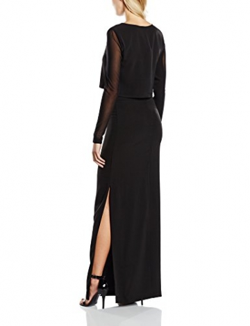 GESTUZ Damen Kleid Esme Dress, Maxi, Gr. 38, Schwarz (Black 90001) - 2