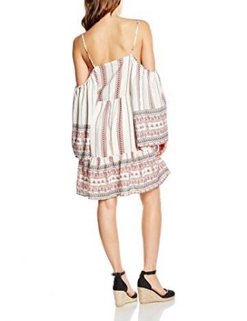 Damen Tribal Boho Kleid Weiß Glamorous Border White Sexy qzVpGSUM