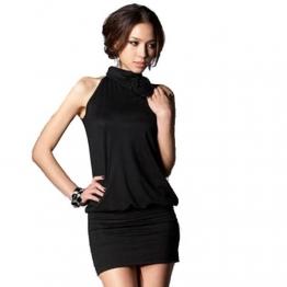 Glanzwelten GOGO Outfit Dancewear Clubwear- Kleid GOGO Kleid erotisches mini Kleid Gr. 36/38 - 1