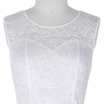 Grace Karin Junior 50er Lace Rund Ausschnitt Kleid L CL422-2 -