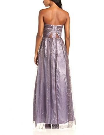 Hailey Logan Damen Dekolletiertes Kleid Ballgwn W Sheer Insrts, Maxi, Gr. 30, Beige (Taupe) - 2