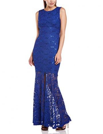Hailey Logan Damen Kleid Gr. 30, Blau - Blau (Königsblau) - 1